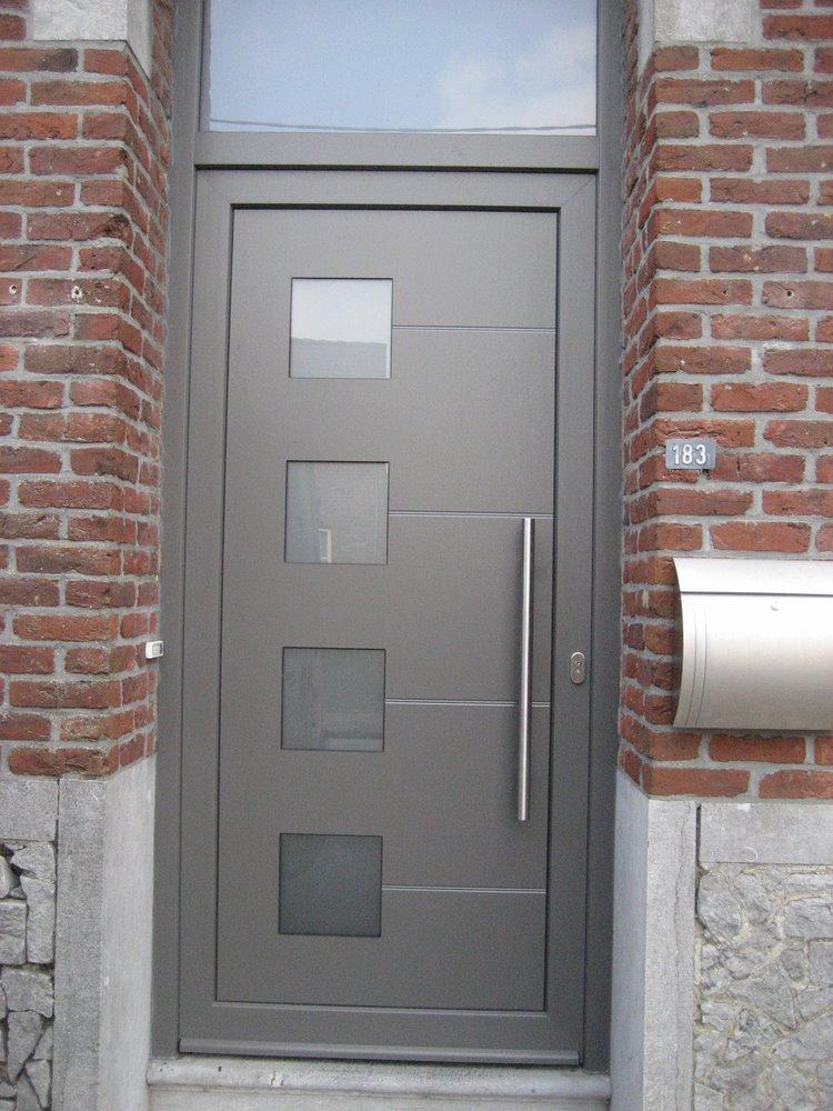 Ch ssis pvc kommerling bois riche alu aliplast porte de for Porte fenetre kommerling