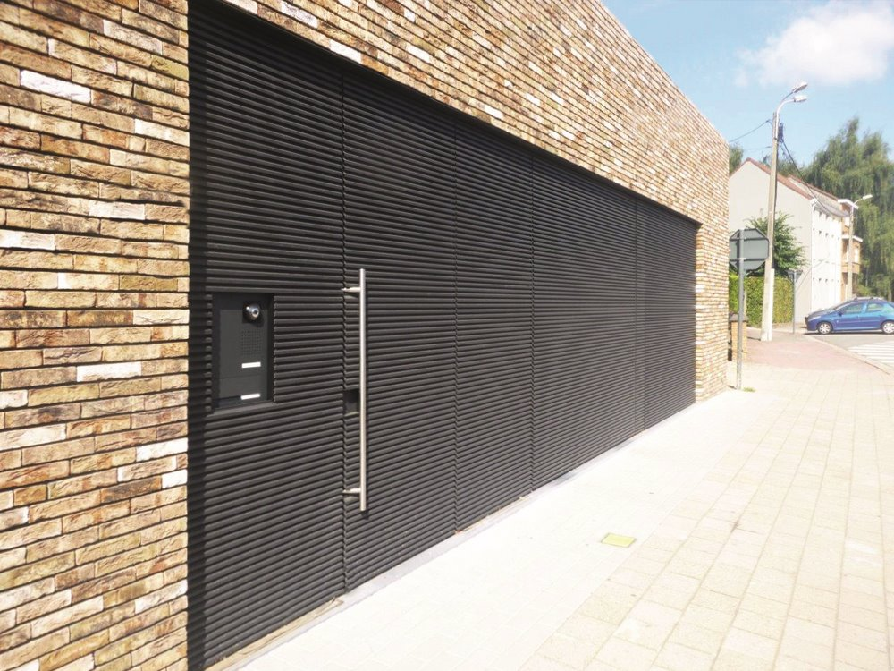Ch ssis pvc kommerling bois riche alu aliplast porte de for Chassis porte garage